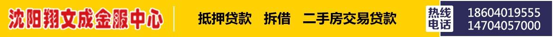广告:沈阳翔文成金服中心