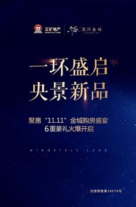 广告:五矿沈河金城
