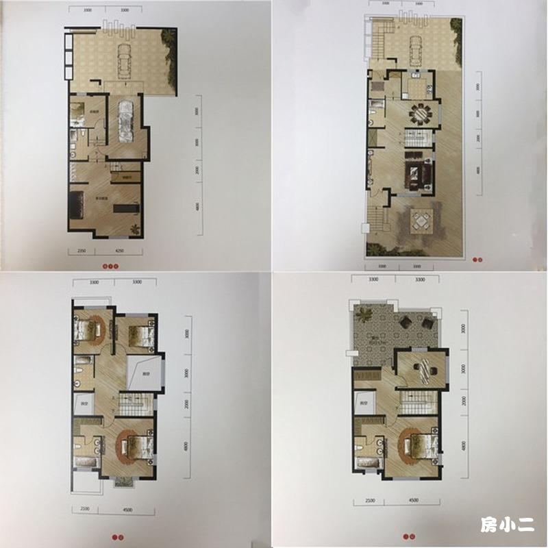 宏发天琴湾5室3厅5卫建筑面积约为240㎡