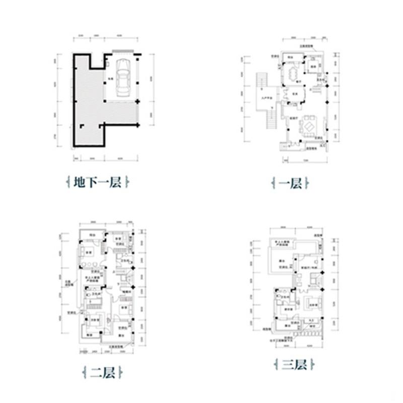 沈阳恒大汇鑫山庄5室3厅4卫建筑面积约为330㎡