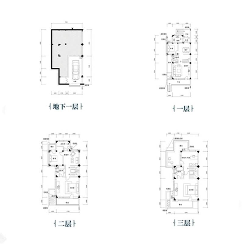 沈阳恒大汇鑫山庄4室4厅4卫建筑面积约为284㎡