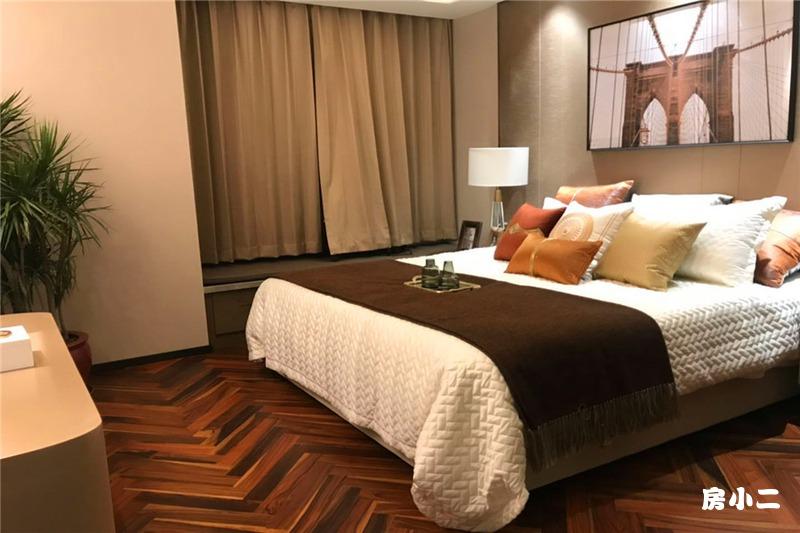 119平3室2厅2卫 卧室