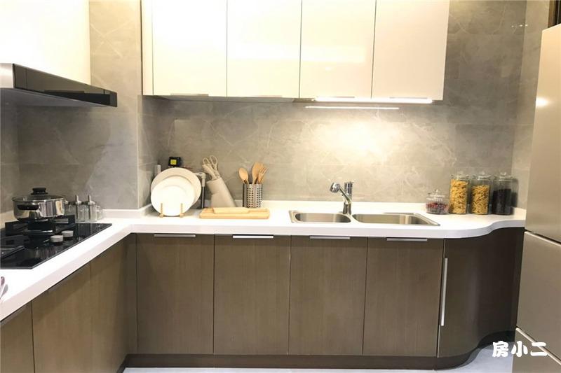88平2室2厅1卫 厨房