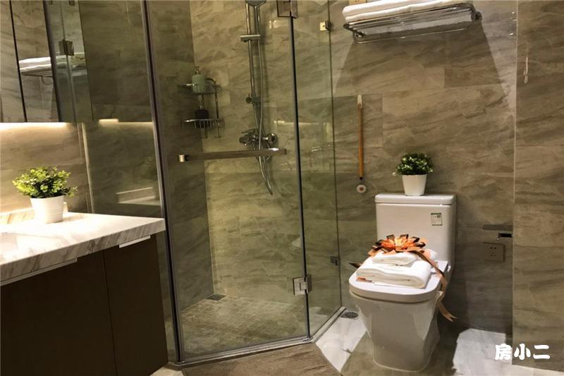 88平2室2厅1卫 卫生间