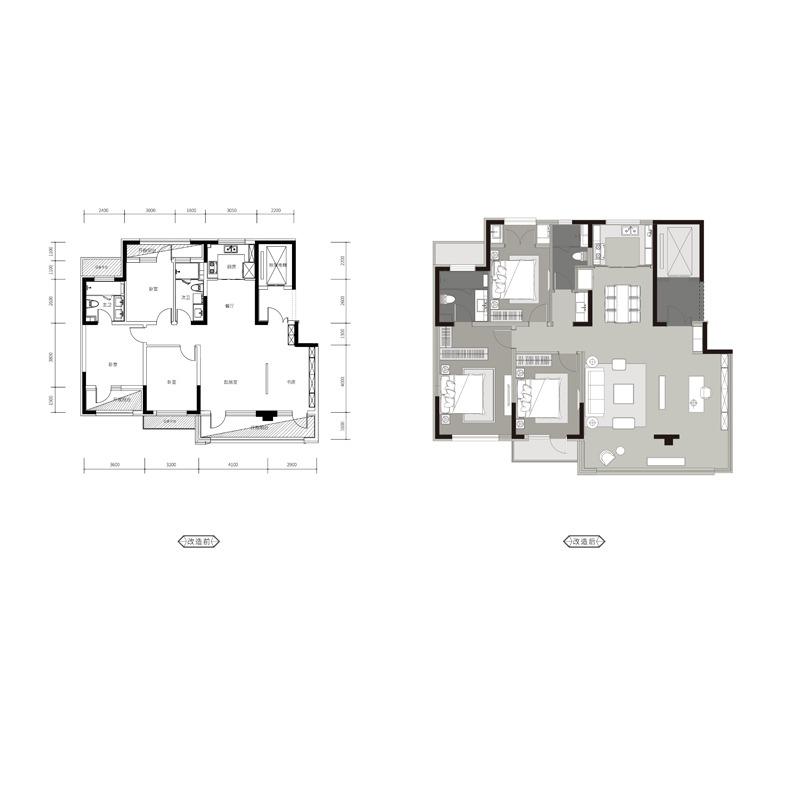 148㎡4室2厅2卫