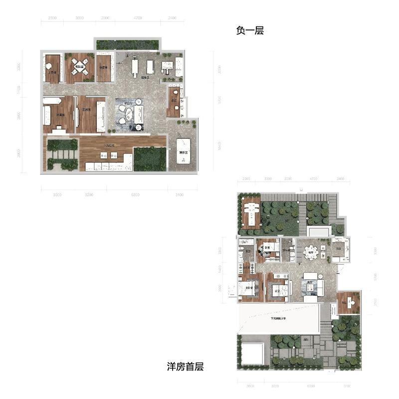 洋房首层129平4室2厅2卫