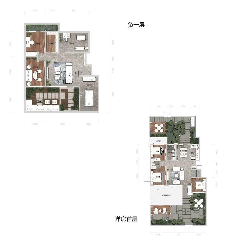 洋房首层92平3室2厅2卫