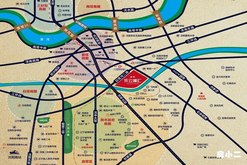 富禹·依云澜汇区位图
