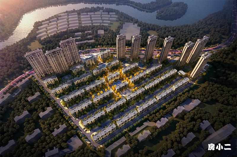 中国铁建·御水澜湾鸟瞰图