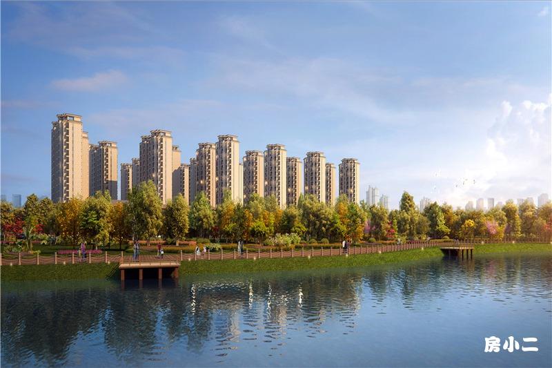 诺德·阅香湖景观效果图