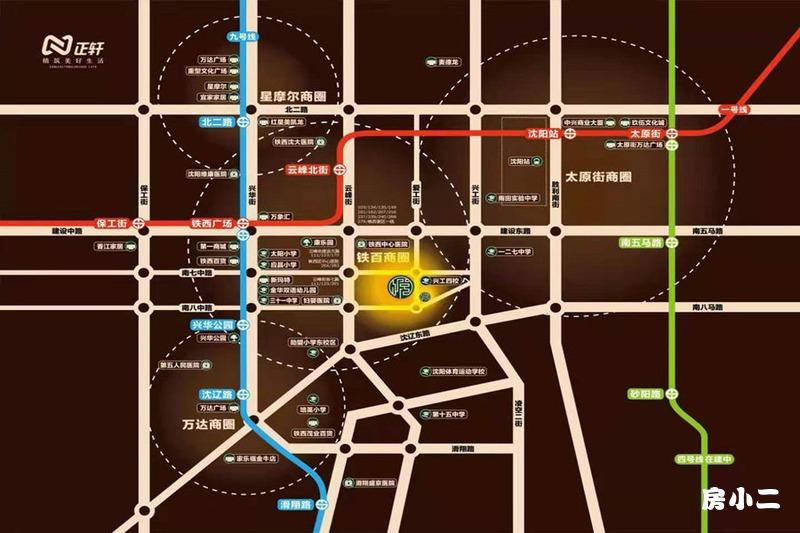 正轩·悦堂项目区位图
