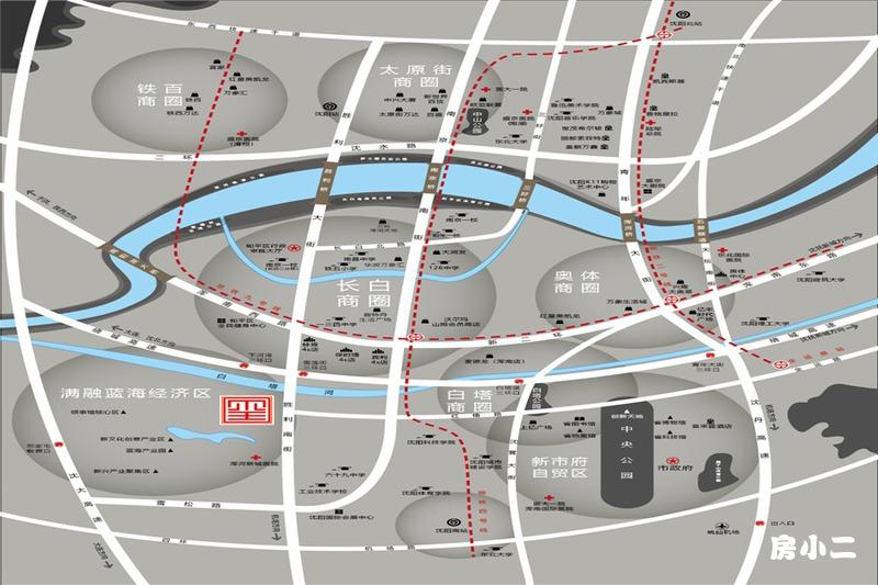 九洲御玺区位图