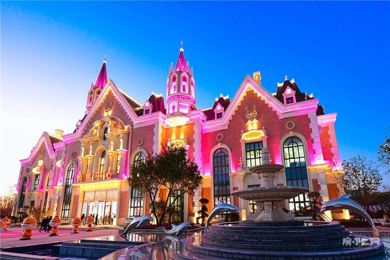 沈阳恒大文化旅游城营销中心外观