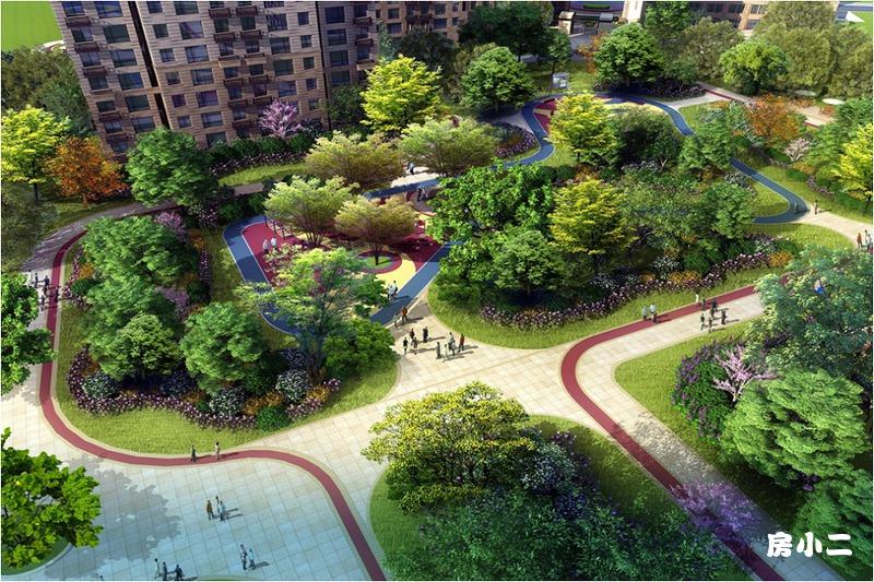 泰盈十里锦城园区效果图