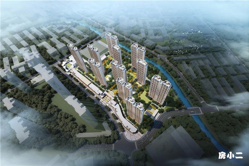 阳光城•和平101项目鸟瞰图
