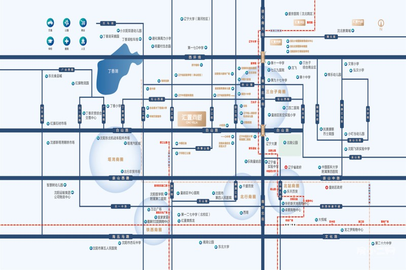 汇置·尚樾区位图