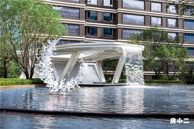 喷泉实景图