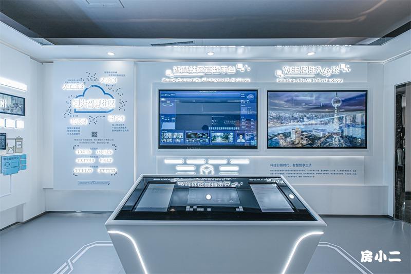 智慧社区管理平台展示区