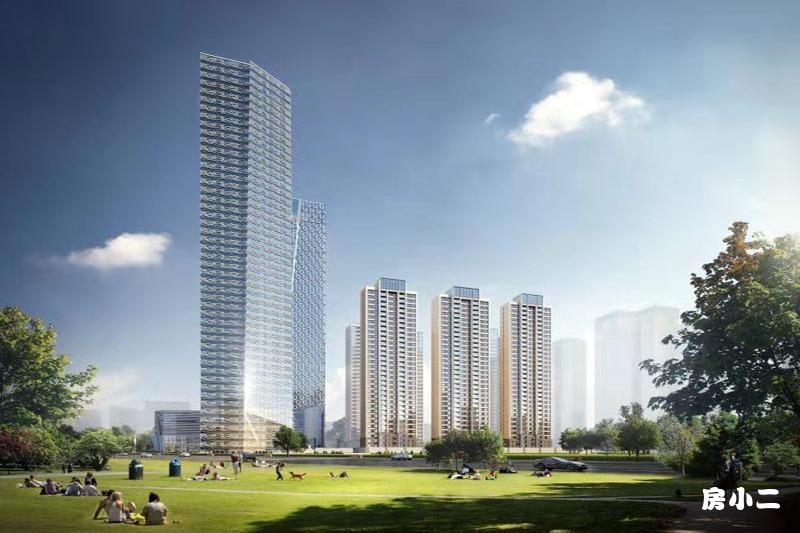 仁恒·公园世纪楼栋效果图