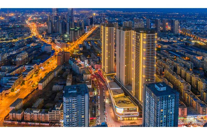 南华中环广场实景图
