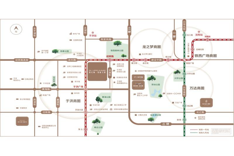 阳光城·翡丽云邸项目区位图