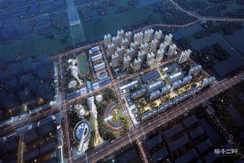 华润置地|时代之城项目效果图