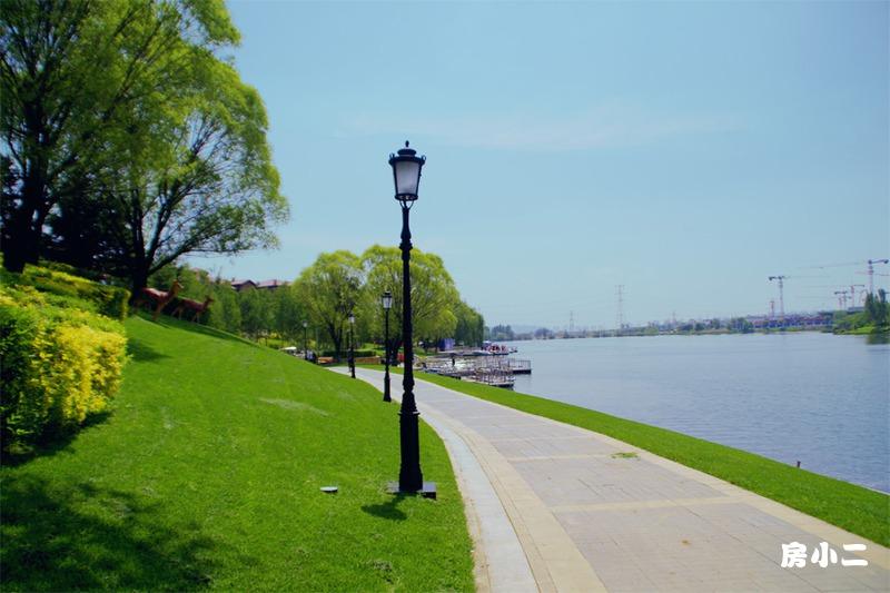 汇置湖畔公园园区景观