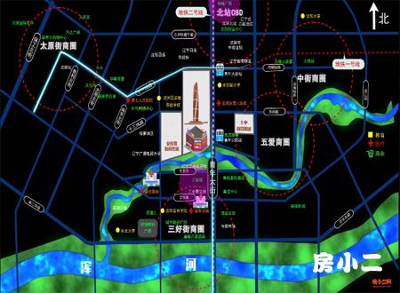 华强商业金融中心区位沙盘
