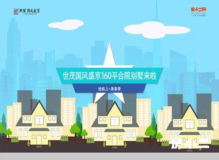 世茂国风盛京160平合院别墅