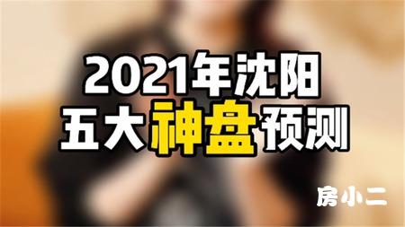 2021年沈阳五大神盘预测