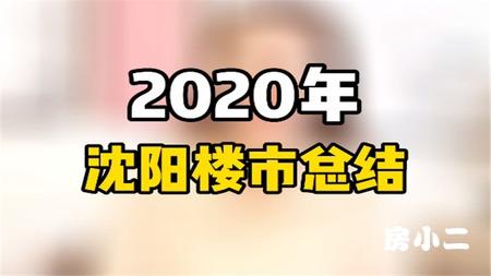 2020年沈阳楼市总结