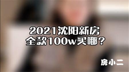 沈阳新房全款100W买哪?