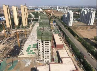 荣盛·坤湖郦舍:2019年5月工程进度